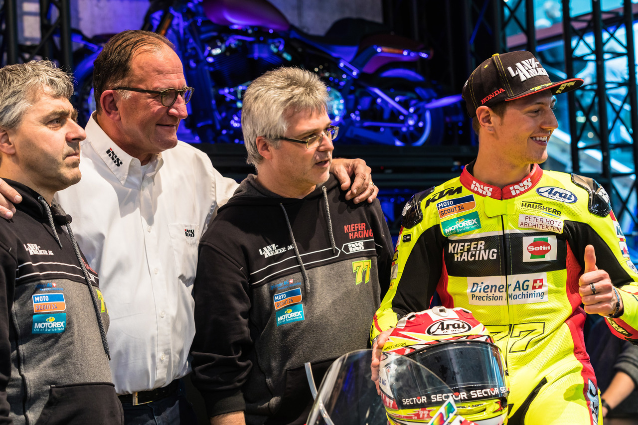 SWISS-MOTO 2018 | Teamvorstellung Kiefer‐Racing | Impression