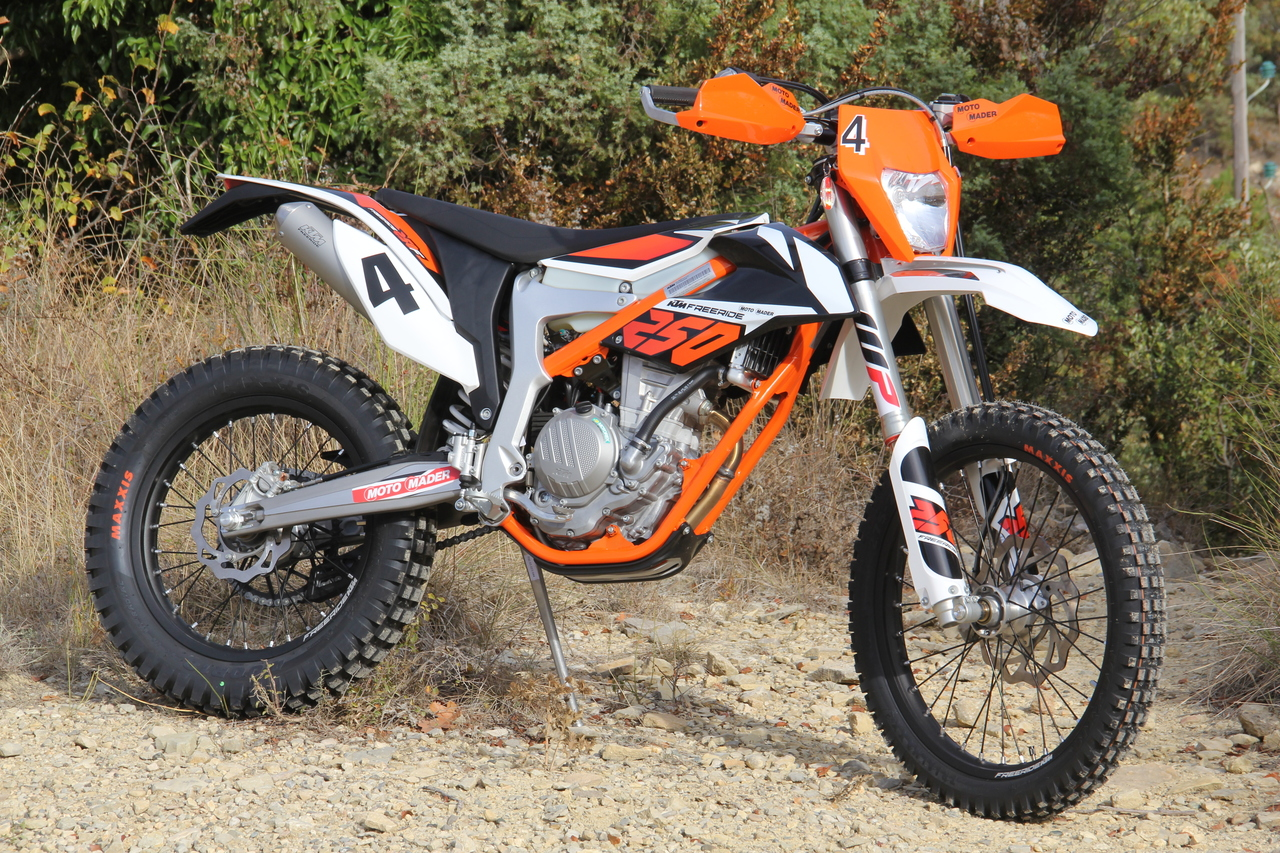 ktm freeride 250 f die allesfahrerin dany wirz offroad. Black Bedroom Furniture Sets. Home Design Ideas